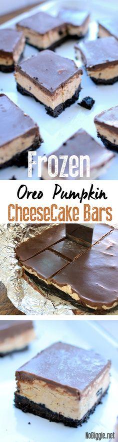 Frozen Oreo Pumpkin