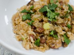 Chinese sticky rice. sticky, sweet, savory and comforting in one bowl.