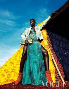 """African Designers & Models - Part 2- Funky Fashions - Funk Gumbo Radio: http://www.live365.com/stations/sirhobson and """"Like"""" us at: https://www.facebook.com/FUNKGUMBORADIO"""