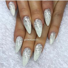 Image result for champagne and white nails