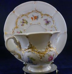 Antique Meissen of Germany Tea Cup and saucer