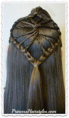 Hairstyles for girls, cute hairstyles & tutorials for waterfall braids, fishtail braids, how to french braid, dutch braid & prom hairstyles. Braided Hairstyles Updo, Lazy Hairstyles, Princess Hairstyles, Back To School Hairstyles For Teens, Little Girl Box Braids, Casual Braids, Box Braids Styling, Asymmetrical Hairstyles, Hair Videos