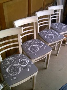The Pampered Baby: DIY Bistro Chair Makeover!
