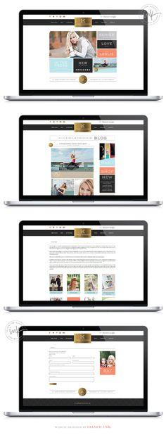 Brand Refresh and Website Launch: Leslie Kerrigan Photography | Wordpress Website Design By Salted Ink