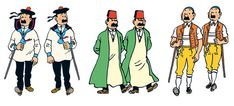 Les Aventures de Tintin - Dupond et Dupont