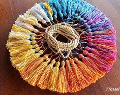 50 PCS glands, Style Maroc, glands Art Batik, fabrication de bijoux, fournitures d'artisanat BRICOLAGE, frange colorée, décoration maison
