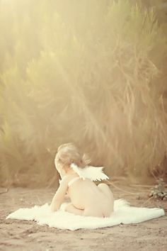 Children » Cherise Kiel Photography- angel wings