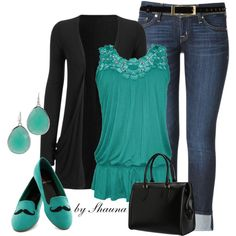 Lace Tank, created by shauna-rogers on Polyvore