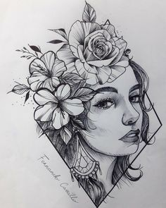 Unique 30 sunflower small tattoos design ideas for women Dark Art Drawings, Pencil Art Drawings, Art Drawings Sketches, Tattoo Drawings, Tattoo Ink, Arm Tattoo, Arte Cholo, Traditional Tattoo Design, Neo Traditional
