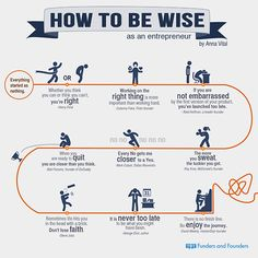How To Be Wise As an #Entrepreneur by @Anna Totten Vital