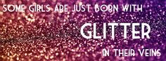 pink glitter cover photo - Google Search
