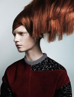 Vogue Italia - Hair & Style Cover Beauty Supplement