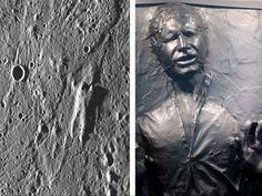 NASA: Frozen Han Solo is on Mercury (kind of)