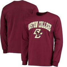 Boston College Eagles Fanatics Branded Campus Long Sleeve T-Shirt - Maroon