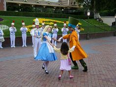 Disney magic made with Alice and the Mad Hatter