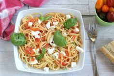 spaghettoni alla caprese