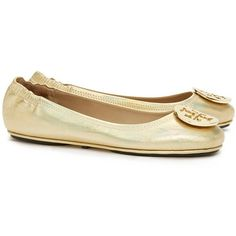 293790b7460 Tory Burch Minnie Travel Ballet Flats With Logo