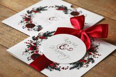 Trendy w zaproszeniach ślubnych od amelia-wedding. Wedding Pl, Amelia Wedding, Bridal Invitations, Gift Wrapping, Watercolor, Gifts, Watercolour, Presents, Watercolor Painting