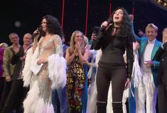 Watch Cher's Surprise Performance at Opening-Night Curtain Call of The Cher Show The Cher Show, Curtain Call, Opening Night, Broadway, It Cast, Boards, Planks