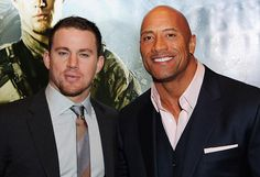 Channing Tatum & Dwayne Johnson