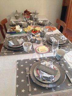 Greengate gedeckter Tisch