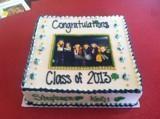 ND Graduation Cake