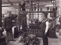 Fábrica de cervezas Mahou.Hacia 1930. (Moreno) De Madrid al cielo: Álbum de fotografías y documentos históricos. - Urbanity.cc