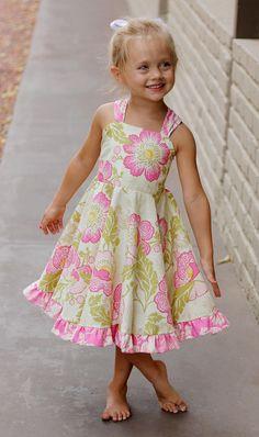 Holland Dress Pattern Baby & Toddler. $4.50, via Etsy.