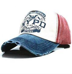 c65a08fdb710d Gorra New York Jeans De Hombre Urbano Moderno Sport Wash Caps