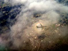 Airplane Shadow, California