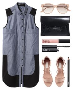 """""""Untitled #312"""" by style-dreams ❤ liked on Polyvore featuring Proenza Schouler, H&M, Witchery, Givenchy, NARS Cosmetics and vintage"""