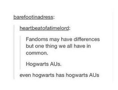Because Harry Potter is the default fandom.
