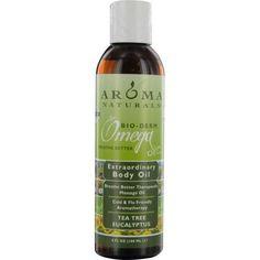 Tea Tree Eucalyptus Aromatherapy Breathe Better Therapeutic Massage Oil 6 Oz By