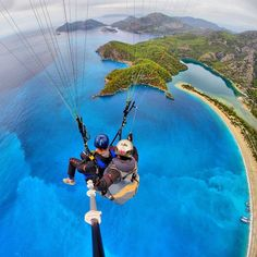 Paragliding in #Fethiye from #Babadag Mountain