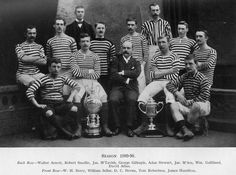 Queen's Park FC: Glasgow Cup and Scottish Cup. (1889-90)