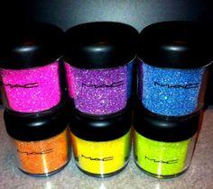 MAC glitter <3