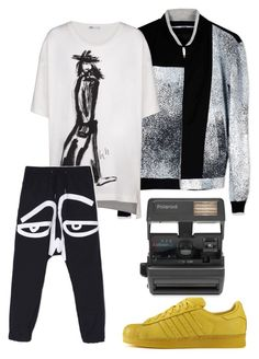 """""""Go out"""" by style-di-prz on Polyvore featuring Kenzo, Y-3, Haculla, adidas, Impossible, men's fashion y menswear"""