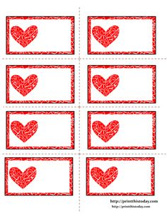 diy valentine's day scratch off card