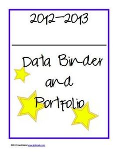 Data Binders provide a means for you to engage and empower students in their own learning. They give them the opportunity to take responsibility fo...