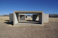 donald judd, 15 untitled works in concrete, 1980-1984.     These pieces soothe the soul. Gorgeous