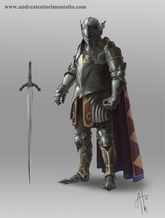 Knight by AndreaTM on deviantART