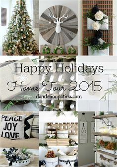 Such details! This cottage style Christmas Home Tour will leave you inspired! Gorgeous neutral palette to keep you warm and cozy all winter long. #cottagestyle #farmhousestyle