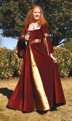 medieval garb | Medieval Costumes | Renaissance Clothing | Medieval Dresses