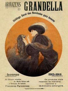 Grandes Armazéns do Chiado - Exposição Virtual Catálogo dos Armazéns Grandella- Inverno 1913-1914