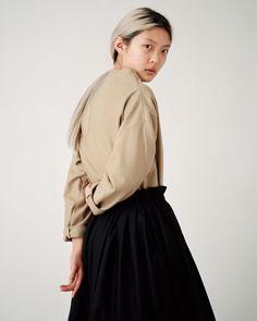Article N°89 Box Pleat Skirt