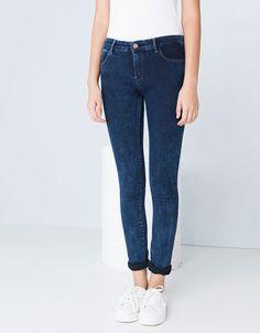Bershka Ukraine - Bershka regular waist skinny jeans