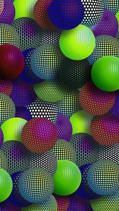 Magic balls - Wallpaper World Wallpaper World, Uhd Wallpaper, Phone Wallpaper Design, Samsung Galaxy Wallpaper, Flower Phone Wallpaper, Apple Wallpaper Iphone, Phone Screen Wallpaper, Cellphone Wallpaper, Cool Wallpaper