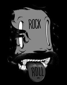 T-Shirt    Rock n Roll    von Mc Bess