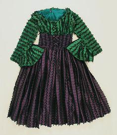 Gilbert Adrian, silk cocktail dress, ca. 1951. Metropolitan Museum of Art