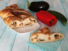 Treccia+ripiena+con+verdure+e+formaggi.